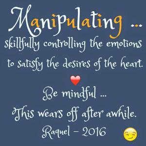 Manipulating - 2016
